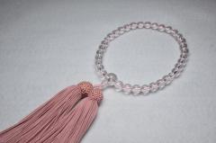 1002水晶8㎜片手灰桜-000